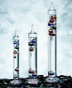 Galileo Galilei Discoveries | Galileo thermometer 11 globe