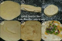 Anda Paratha Step by Step Indian Food Recipes, Ethnic Recipes, Step By Step Instructions, Love Food, Food To Make, Cooking, Kitchen, Indian Recipes, Brewing