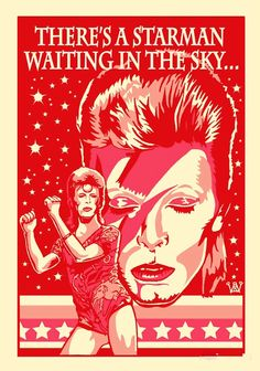 David Bowie // 1967 : David Bowie 1969 : Space Oddity 1970 : The Man Who Sold the World 1971 : Hunky Dory 1972 : The Rise and Fall of Ziggy Stardust and the Spiders from Mars 1973 : Aladdin Sane 1973 : Pin Ups 1974 : Diamond Dogs David Bowie Tribute, David Bowie Art, Aladdin Sane, Rock Roll, Mayor Tom, Peter Pan, Ziggy Played Guitar, Bowie Starman, Bowie Blackstar