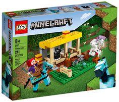 Lego Minecraft, Lego 4, Lego Duplo, Minecraft Horse, Buy Lego, Toy Horse Stable, Horse Stables, Lego Creator, Minecraft Accessories
