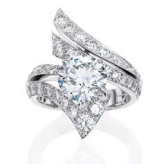 Brides: Unique Engagement Ring Settings | Engagement Rings | Engagement | Brides.com