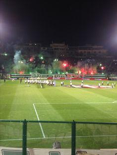 Apostolos Nikolaidis stadium-leoforos gate 13 on fire⚽️☘Panathinaikos-Olympiakos 1-0 19/3/2017