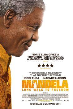 """La muerte del líder sudafricano Nelson mandela, se sincronizó con el estreno en Londres de la película """"Mandela: Long Walk to Freedom"""", la cual su protagonista, Idris Elba, calificó como una """"historia de amor"""" de Madiba con su país y con su controvertida esposa Winnie."""