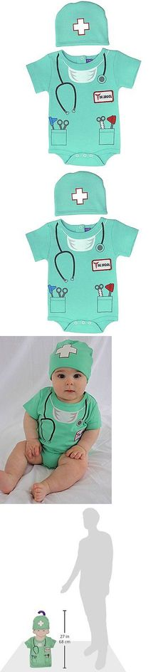 Other Baby and Toddler Clothing 1070: Sozo Unisex-Baby Newborn Doctor Bodysuit And Cap Set, Green, 6-12 Months -> BUY IT NOW ONLY: $37.42 on eBay!