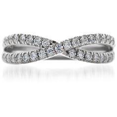 Infinity wedding ring ♥