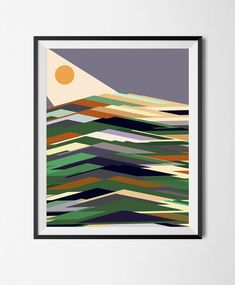 Landscape Gardening Courses Northern Ireland other Landscape Gardening Near Me. Landscape Gardening Course another Easy Landscape Gardening Ideas Abstract Landscape, Landscape Design, Abstract Art, Printable Art, Printables, Geometric Poster, Geometric Prints, Healthy Snacks For Kids, Layout Inspiration