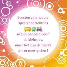 Tegeltjeswijsheid.nl - een uniek presentje - Borsten zijn net als speelgoedtreintjes Voor alle vaders  die graag met treintjes spelen! Kijk ook eens op onze webshop, tegeltjeswijsheid.nl voor veel meer leuke, lieve, ondeugende en grappige teksten op onze tegeltjes. Altijd een origineel cadeautje! http://www.tegeltjeswijsheid.nl/borsten-zijn-net-als-speelgoedtreintjes.html