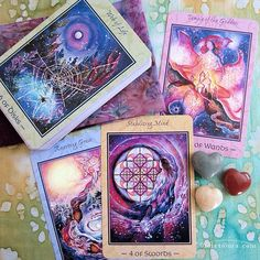 The Tarot of Transformation. Beautiful card deck. More info at the image link.  / Photo © www.VioletAura.com