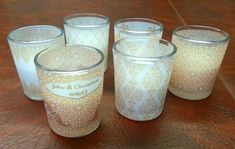 First DIY, vellum covered votives! :  wedding diy inspiration reception vellum votive C Votives Diy