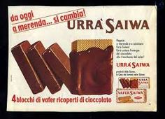 URRA' SAIWA la merenda degli anni 60.