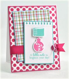 Card by Debbie Olson for Papertrey Ink (February 2012).