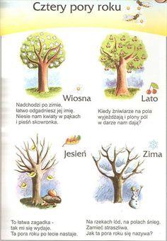 Montessori Education, Montessori Activities, Learn Polish, Polish Language, Weather Seasons, Primary Teaching, Language Activities, Kids And Parenting, Kindergarten
