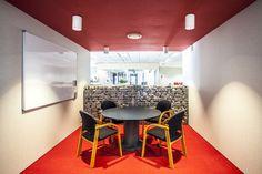 Red Collaboration Room Front on PKF SMART Business Hub - NZ