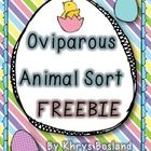 This Oviparous Animal Sort will make a fabulous addition to your Easter fun! And to make it even better, it's FREE! I hope you are able to use it w...