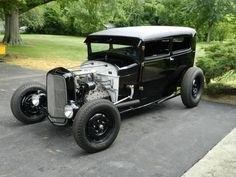 1930 Ford Model A Sedan Hot Rod Street Rod Custom V8 Flathead 1932 32, image 1