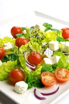 Healthy food to lose weight:  #fresh salad #healthy food