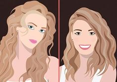 Hairstyles for Round Faces : Excellent Tips to Look Stunning! Blue Eye Makeup, Eye Makeup Tips, Hairstyles For Round Faces, Different Hairstyles, Peeling Maske, Hair Color Guide, Lemon On Face, Under Eye Wrinkles, Makeup For Beginners