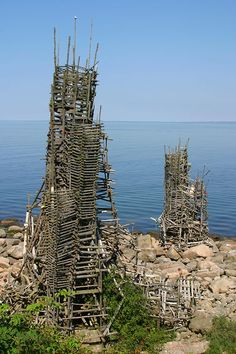 Ladonia is a micronation in southern Sweden which was claimed in 1996 following a years-long court battle between Swedish artist Lars Vilks and local authorities regarding two sculptures. The claimed land is located within a nature reserve and the micronation is therefore not recognized by authorities.