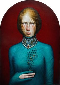 Dino Valls: FOVEOLAE, 2017 Oil / wood   70 x 50 cm