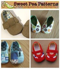 DIY baby bootie patterns!