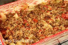 Deep South Dish: Cabbage Patch Casserole