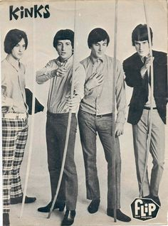 The Kinks (Dave Davies, Ray Davies, Pete Quaife, Mick Avory) - You Really Got… 60s Music, Music Icon, Dave Davies, Classic Rock Artists, The Ventures, The Kinks, British Invasion, Music Bands, Pop Group