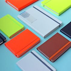 Our Agenzio notebooks - a total classic, but updated in neon - yum