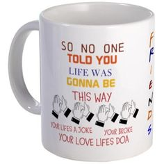 Friends Theme Song Mug