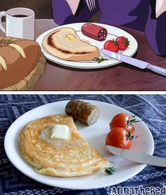 OMG. I just died. Awesome blog on how to cook foods from Hayao Miyazaki films such as Kiki's Delivery Service and Totoro!! <3