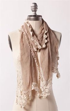 Romantic Retreat Scarf from DownEast $14.99
