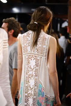 zimmermann-sydney:  idyllic guipure panelled dress. ruby jean wilson.