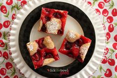 Lick The Bowl Good: Cherry On Top - Cherry Slices