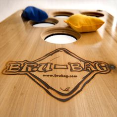 Bru-Bag is america's new favorite yard game, it merges the rules of beerpong with the family friendly game-play of Cornhole to create one amazing time!