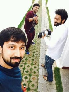 NTR Latest Images NTR Latest Images. Jr NTR reday for His 27 movie. Movie will starts with Pooja Formalities on February 10. NTR enjoying with his Upcoming Movie Team Images. Rasi Khanna is one of the leading actress. DSP is going to composing the Music. K.S.   #Actors-N