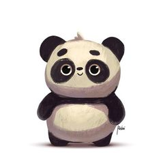 #pushai #pushaiart #art #behance #panda #cute https://www.behance.net/pushaiart ★ Find more at http://www.pinterest.com/competing