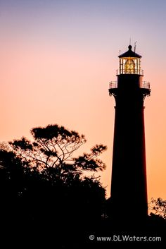Light At Dawn - Currituck Beach Lighthouse at dawn in Corolla on the Outer Banks of NC. To buy prints: http://dlwaters.photoshelter.com/gallery-image/Currituck-Beach-Lighthouse/G0000SV9IDw2l0ic/I0000GVdH4nVIFFM/C0000dFmfAIvKPI8 #attraction #banks #beach #beacon #brick #carolina #coast #corolla #currituck #currituck beach lighthouse #currituck heritage park #dawn #destination #east #fresnel #golden #guidance #historic #landmark #light #lighthouse #maritime #mid-atlantic #nautical #navigation…