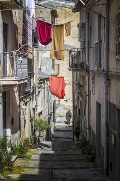 Street in old Nicosia, Cyprus
