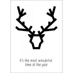 Carte Christmas Deer