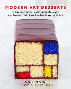 Shut the Front Door!  Modern Art Desserts by Caitlin Freeman of Blue Bottle Coffee Company.