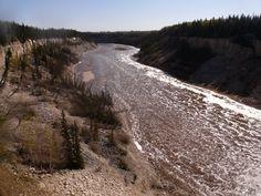 Hey river NWT - Great Slave Lake