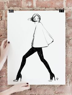 Garance Dore prints: I'll take one of each (but especially this one)