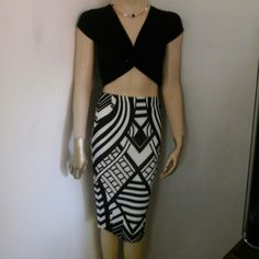 Pencil Skirt  (NWOT) This Sexy skirt Fit below the knee. Very strechfull mterial. Skirts Pencil