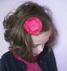Darling DIY Hair Accessories  - Make homemade hair accessories that actually look adorable.