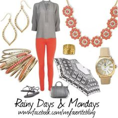 Peachy Keen necklace, Gold Essence earrings, Crush bracelets, In Vogue watch & Gold Reflections ring