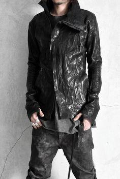 Isaac Sellam lamb skin leather jacket