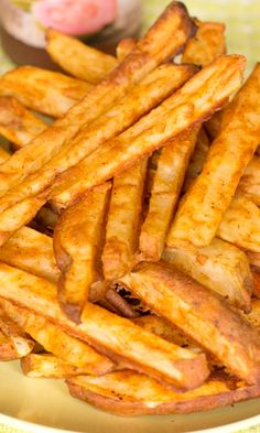 how to make home cut fries in the oven