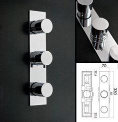 recessed shower controls images - Google Search