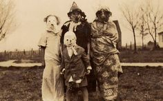 Anonymous Halloween photographs from c.1875–1955. Truly haunting Americana, with a foreword by David Lynch