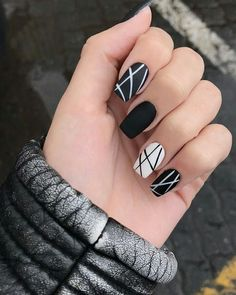 50 Awesome Coffin Nails Designs For in 2019 ; nails… - New Site New Nail Designs, Simple Nail Designs, Acrylic Nail Designs, Easy Designs, Trendy Nail Art, Nagel Gel, Super Nails, Flower Nails, French Nails
