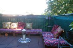 Oriental terrace sofa #Pallets, #Sofa, #Terrace